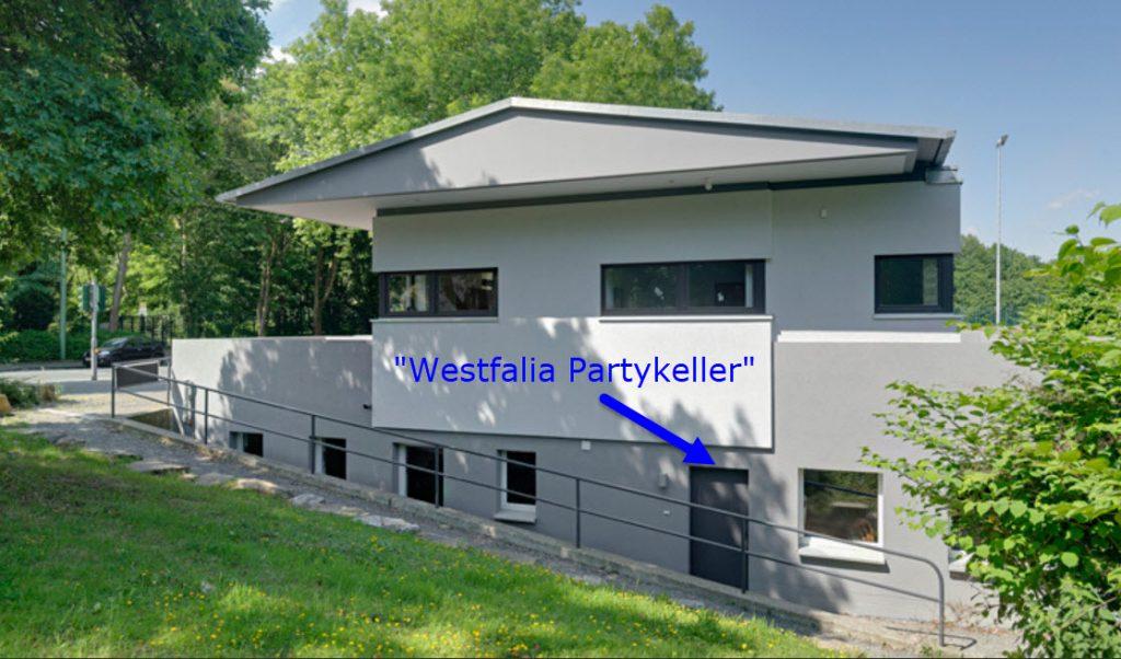 partykeller info seite vermietung vereinsheim westfalia hagen. Black Bedroom Furniture Sets. Home Design Ideas